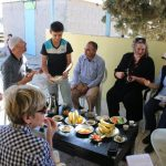 Image of Hospitality in Umm Al-Hiram during our briefing
