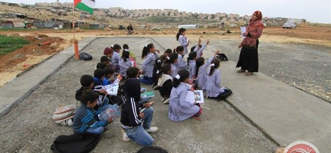 bedouin school demolished